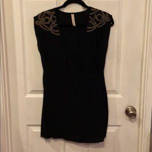Audrey party black dress